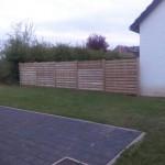 Panneaux cloture bois